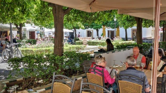 Plaza de Doña Elvira, Sevilha, Espanha