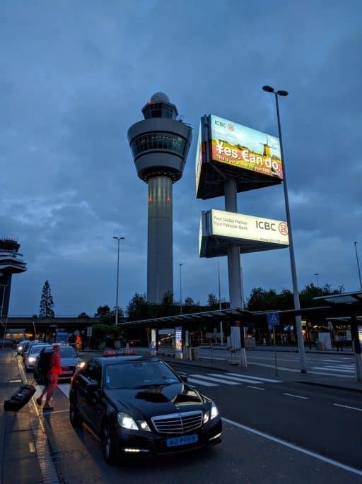 Aeroporto Schiphol: torre