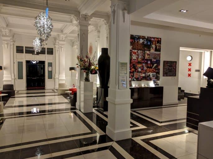 Saguão do Hampshire Hotel - The Manor Amsterdam