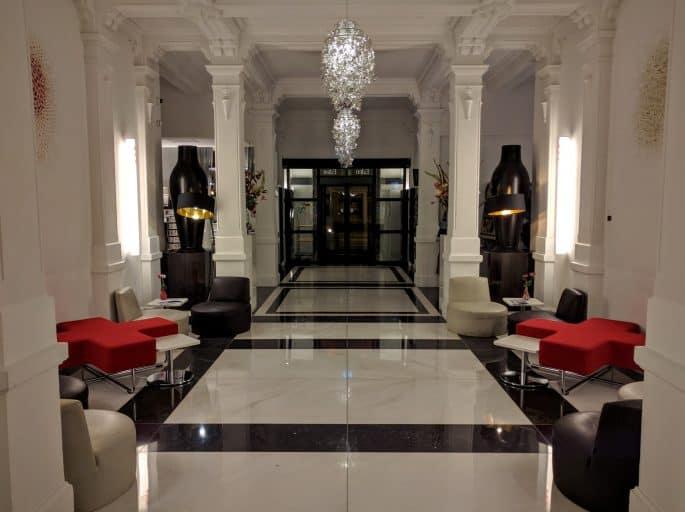 Área do saguão do Hampshire Hotel - The Manor Amsterdam