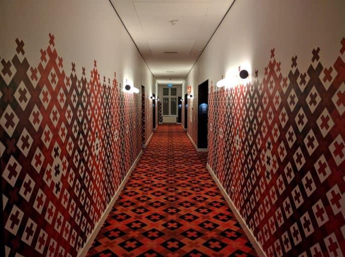 Corredor de quartos no Hampshire Hotel - The Manor Amsterdam