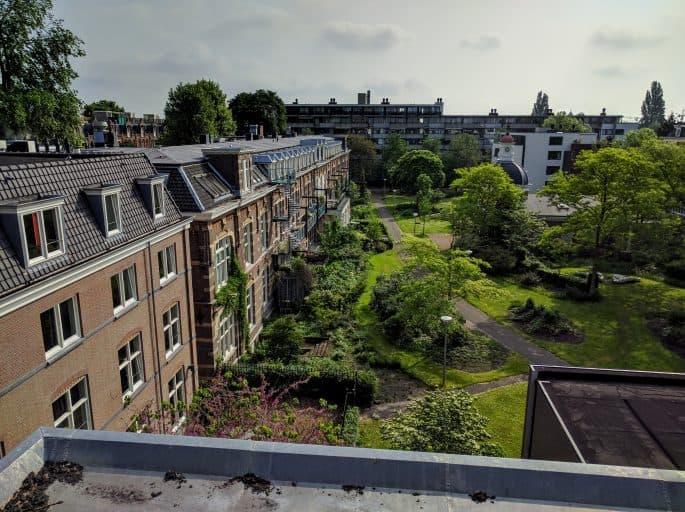 Vista pela janela no Hampshire Hotel - The Manor Amsterdam