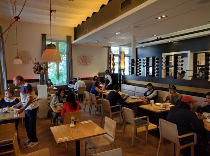 Café-da-manhã no Hampshire Hotel - The Manor Amsterdam