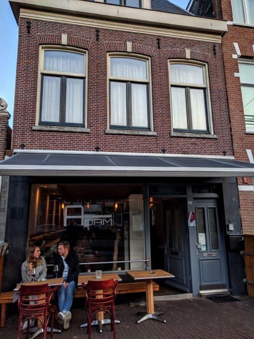 Adam Restaurant, em Amsterdã | Fachada