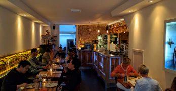 Adam: excelente restaurante em Amsterdã (huuuum!)