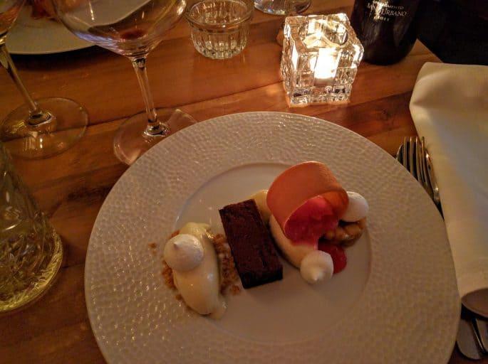 Adam Restaurant, em Amsterdã | Sobremesa
