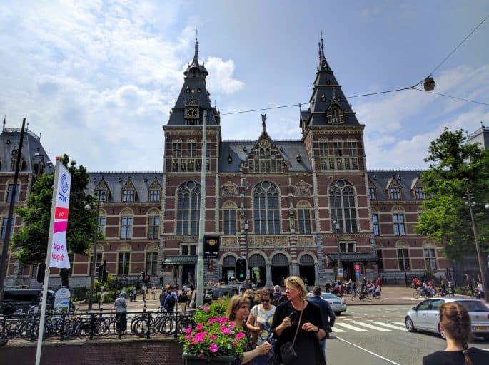 Rijksmuseum - Amsterdã | O prédio