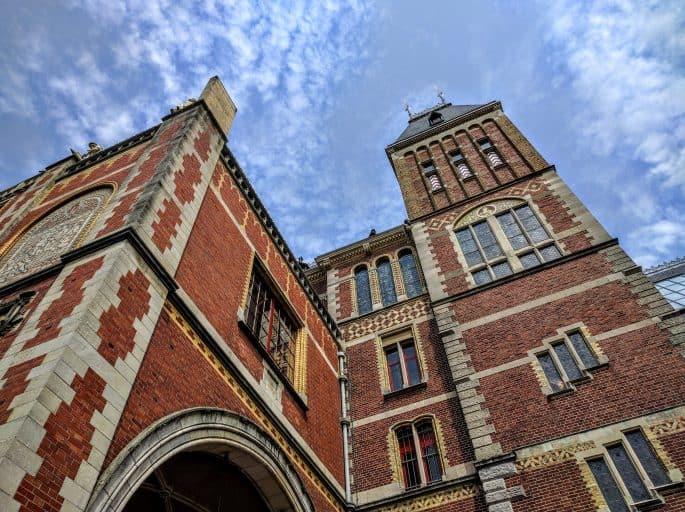 Rijksmuseum - Amsterdã | Outro detalhe do prédio
