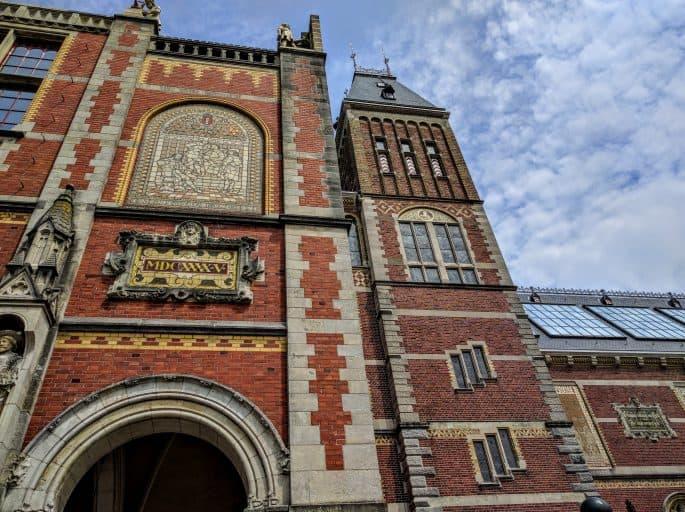 Rijksmuseum - Amsterdã | Mais um detalhe do prédio