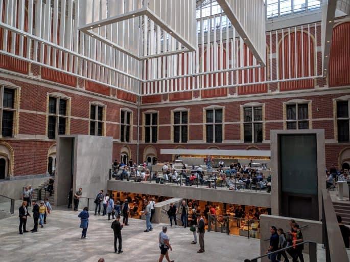 Rijksmuseum - Amsterdã | Entrada