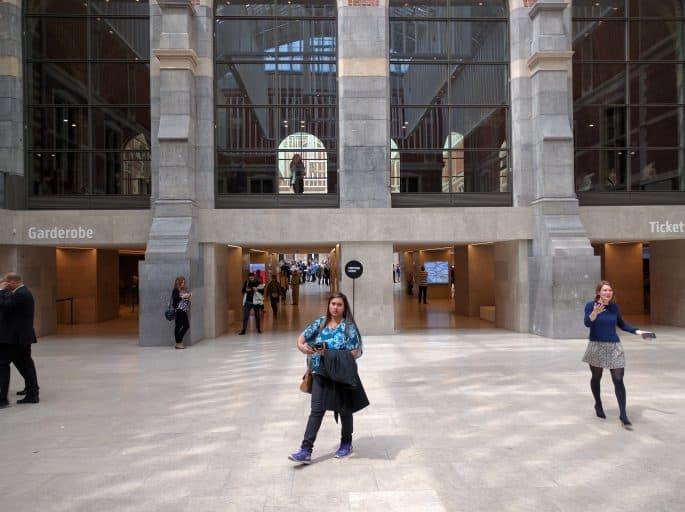 Rijksmuseum - Amsterdã | Área da entrada