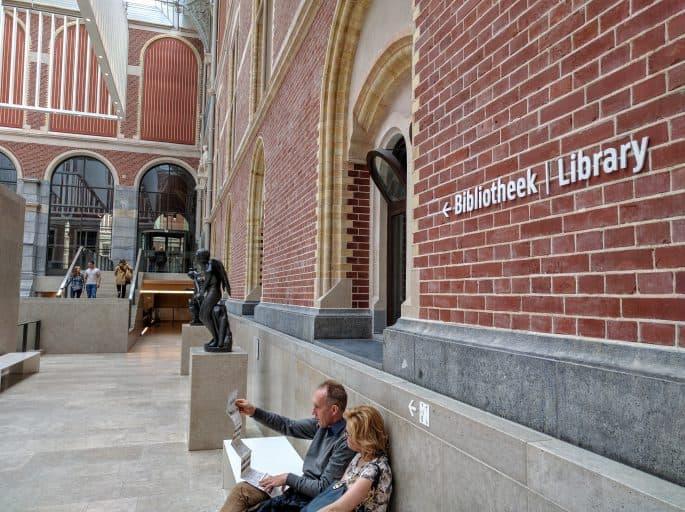 Rijksmuseum - Amsterdã | Acesso à biblioteca