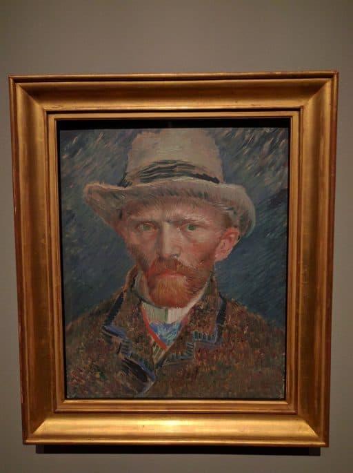 Rijksmuseum - Amsterdã | Auto-retrato de Van Gogh