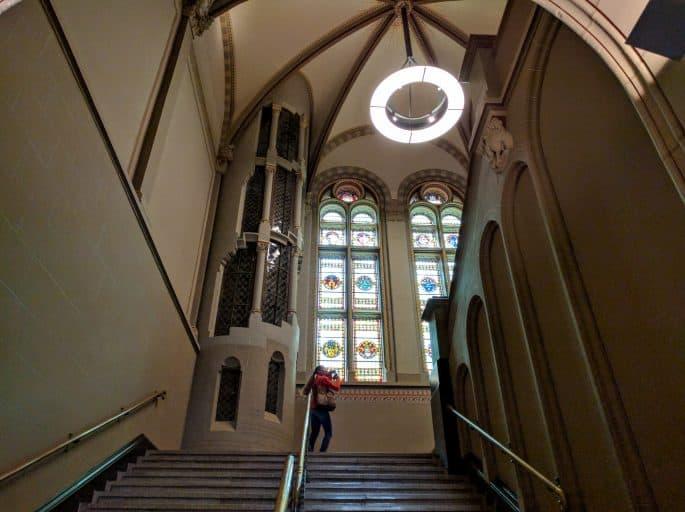 Rijksmuseum - Amsterdã | Acesso ao piso superior