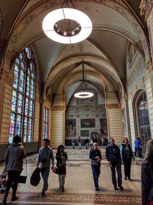 Rijksmuseum - Amsterdã | No piso superior