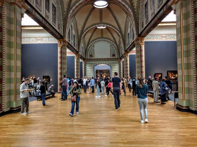 Rijksmuseum - Amsterdã | Acesso à area de Rembrandt