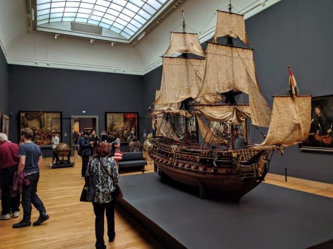 Rijksmuseum - Amsterdã | Itens expostos