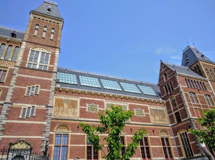 Rijksmuseum - Amsterdã | Detalhe do prédio