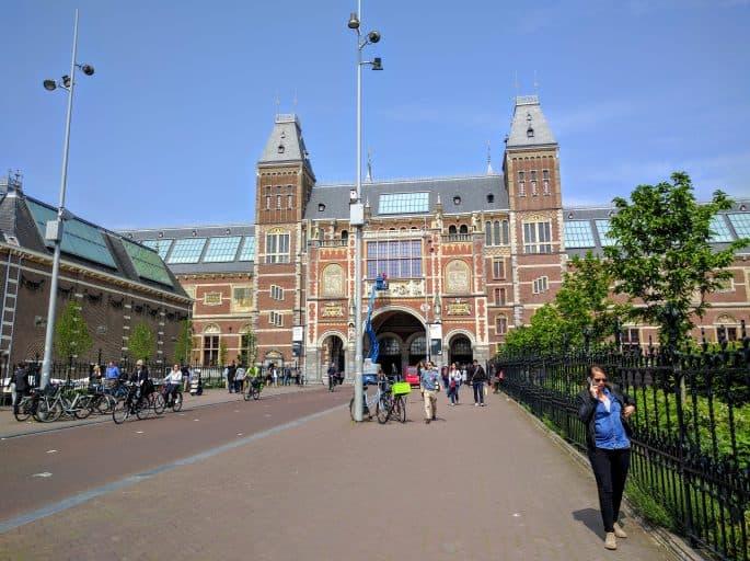 Rijksmuseum - Amsterdã | Uma das entradas