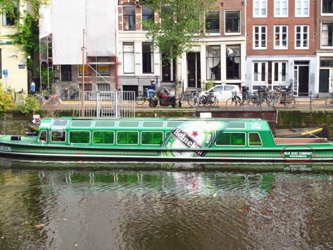 Barco da Heineken