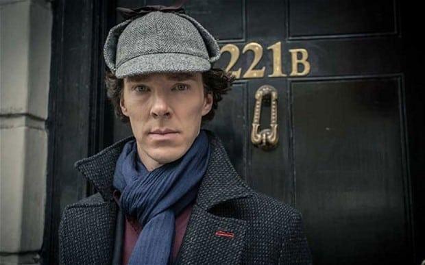 Benedict Cumberbatch como Sherlock Holmes