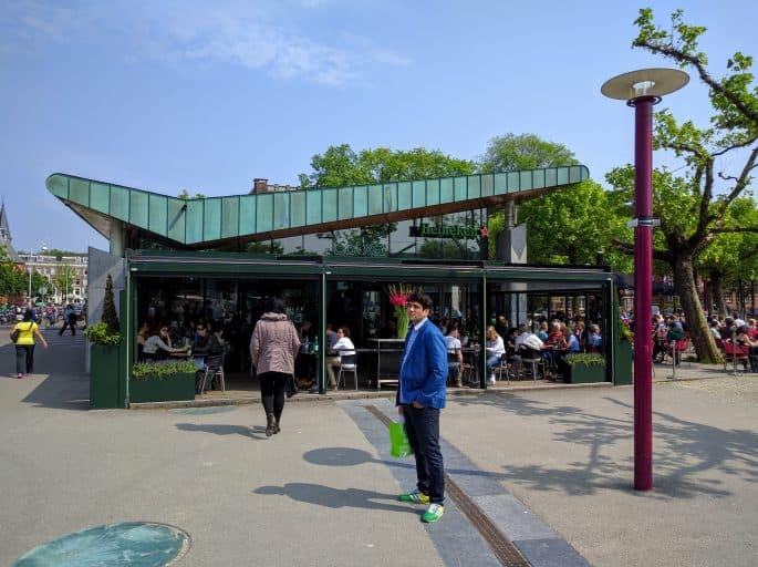 Cobra Café, na Museumplein: vista externa
