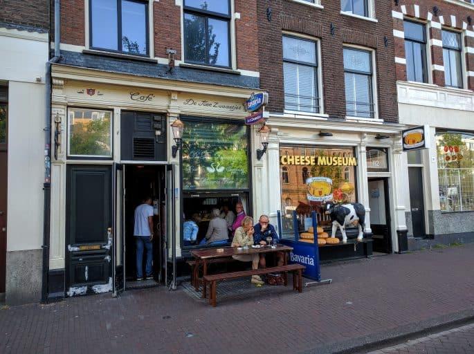 Cheese Museum, em Amsterdã: fachada