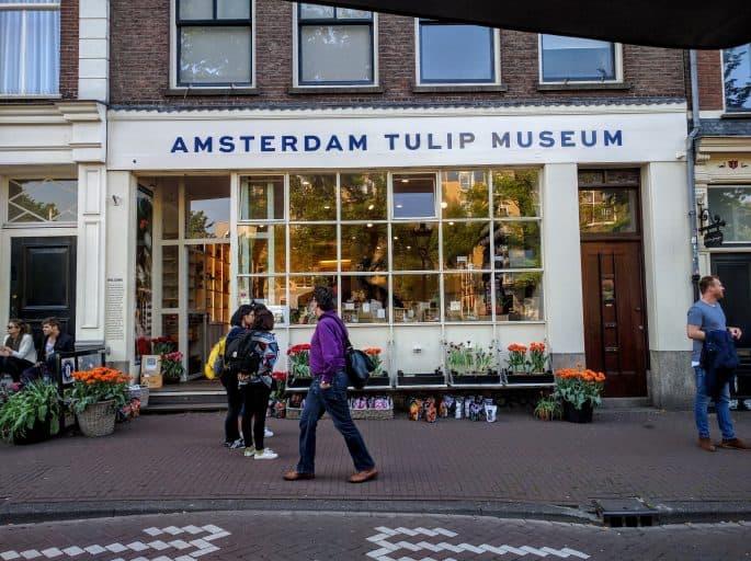 Museu da Tulipa, em Amsterdã: fachada