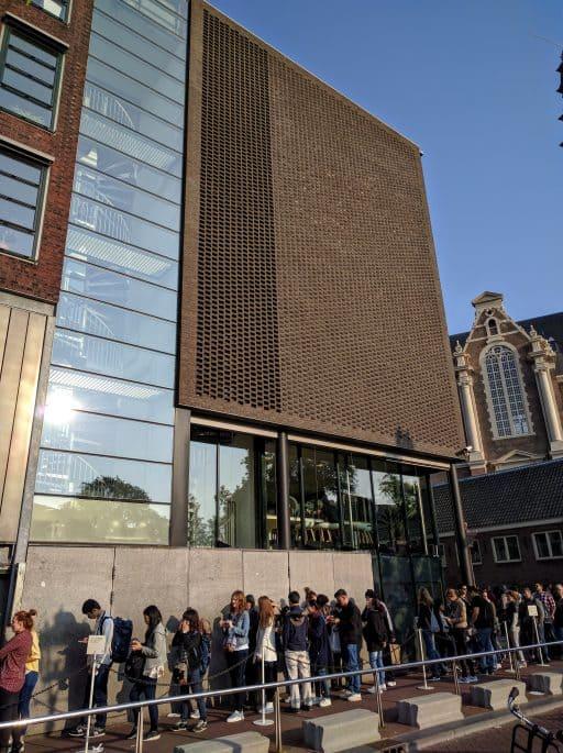 Casa Anne Frank, em Amsterdã: o prédio