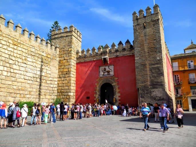 Palácio Real Alcázar, em Sevilha