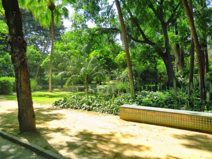 Parque de María Luisa, em Sevilha