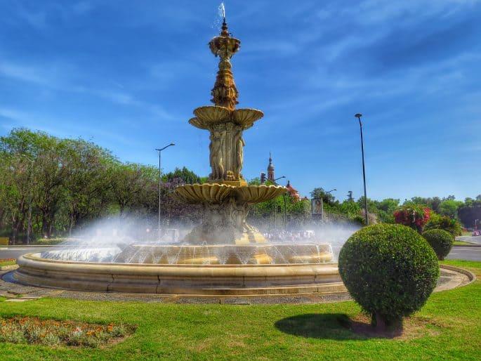 Fonte em Sevilha