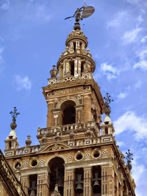 La Giralda, da Catedral de Sevilha