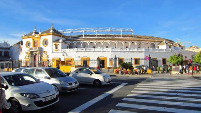 Plaza de Toros em Sevilha