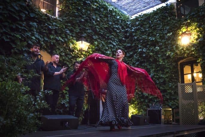 Flamenco em Córdoba: Compañía Flamenca Desirée Calero La Merenguita | Dançarina em solo