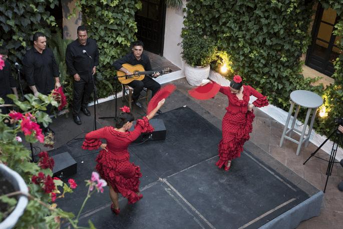 Flamenco em Córdoba: Compañía Flamenca Desirée Calero La Merenguita | Palco visto do alto