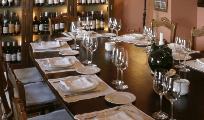 Restaurante Bodegas Campos, em Córdoba: sala de refeição