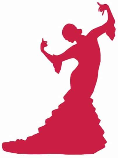 flamenco-dancer-silhouettes-vector - Edited