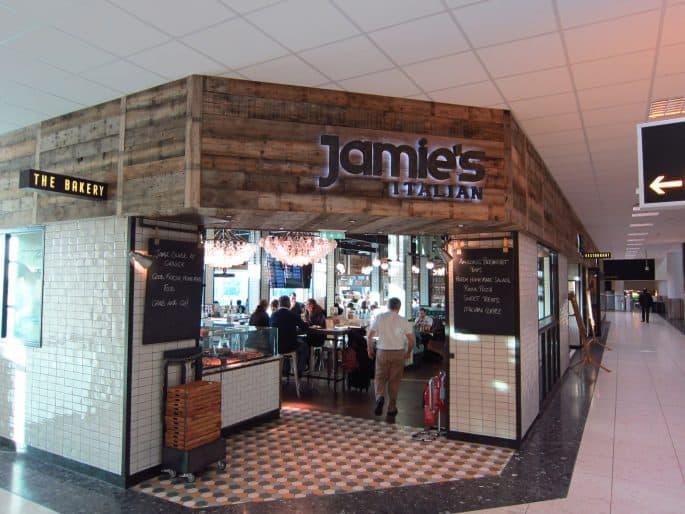 Restaurante de Jamie Oliver na Inglaterra