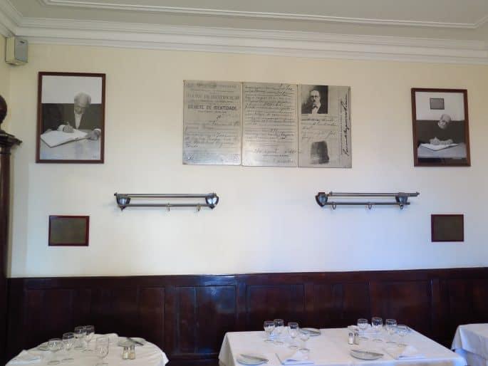 Restaurante Martinho da Arcada: Fernando Pessoa e outros autores