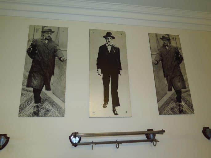 Restaurante Martinho da Arcada: retratos de Fernando Pessoa