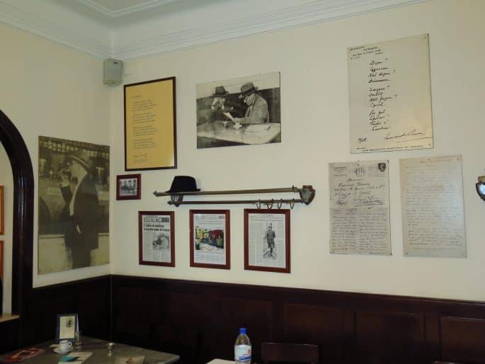 Restaurante Martinho da Arcada: o canto de Fernando Pessoa