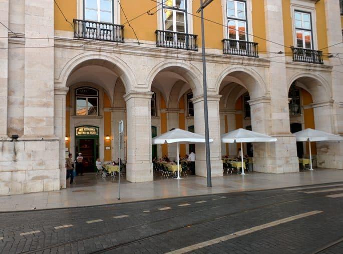 Restaurante Martinho da Arcada: fachada