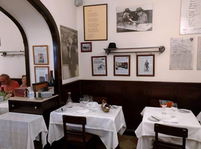 Restaurante Martinho da Arcada: a mesa de Fernando Pessoa