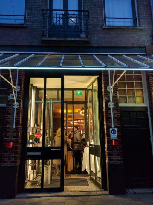 Le Garage: restaurante francês em Amsterdã | Entrada