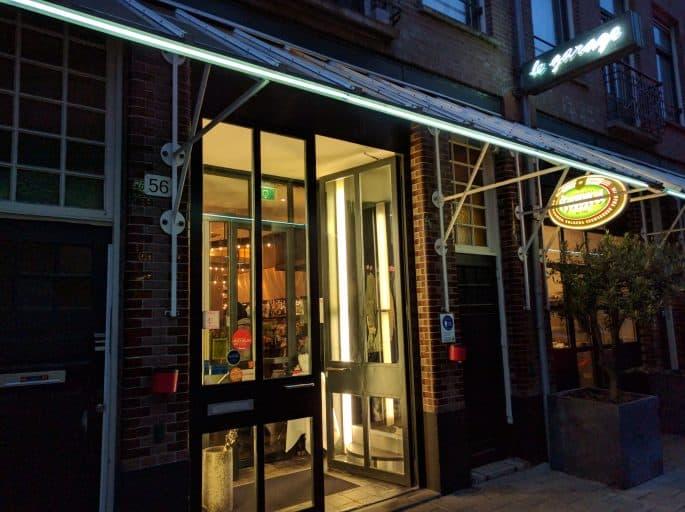 Le Garage: restaurante francês em Amsterdã | Fachada