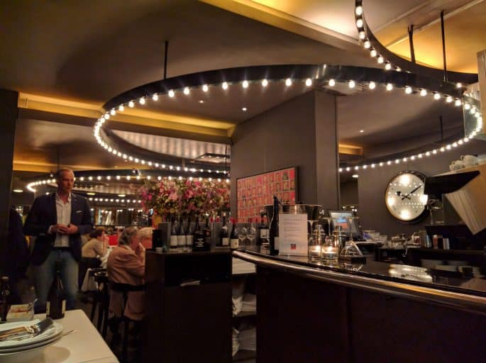 Le Garage: restaurante francês em Amsterdã | Interior