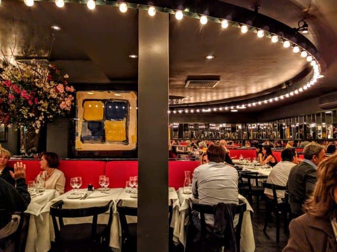 Le Garage: restaurante francês em Amsterdã | Mesas