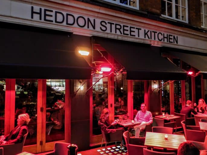 Restaurante de Gordon Ramsay: Heddon Street Kitchen