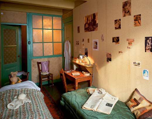 Museu Anne Frank - Quarto de Anne
